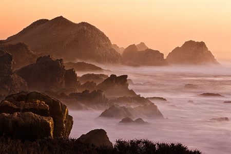 """Point Lobos Evening Mood I""     Point Lobos State Reserve, California"