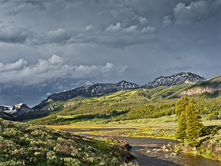 """Lamar Valley after The Thunderstorm""     Yellowstone National Park, Wyoming"
