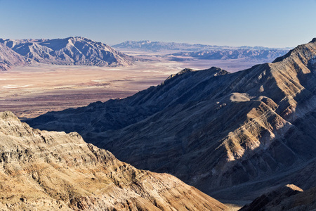 """Death Valley from Panamint Range""     Death Valley National Park, California"