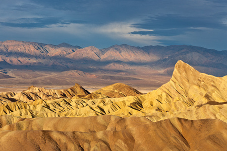 """Zabriskie Point Basking In The Morning Sun""     Death Valley National Park"
