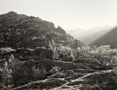 """Late Afternoon Sun Raking Across the Ventana Wilderness""     Big Sur Backcountry, California"