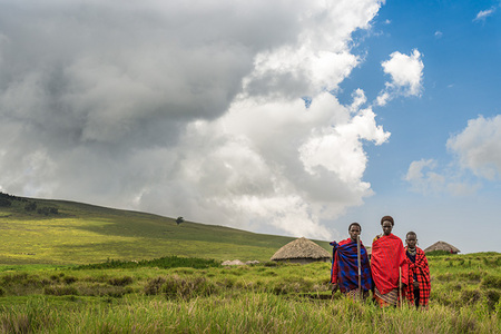 """Young Maasai Warriors""     Ngorongoro Highlands, Tanzania"